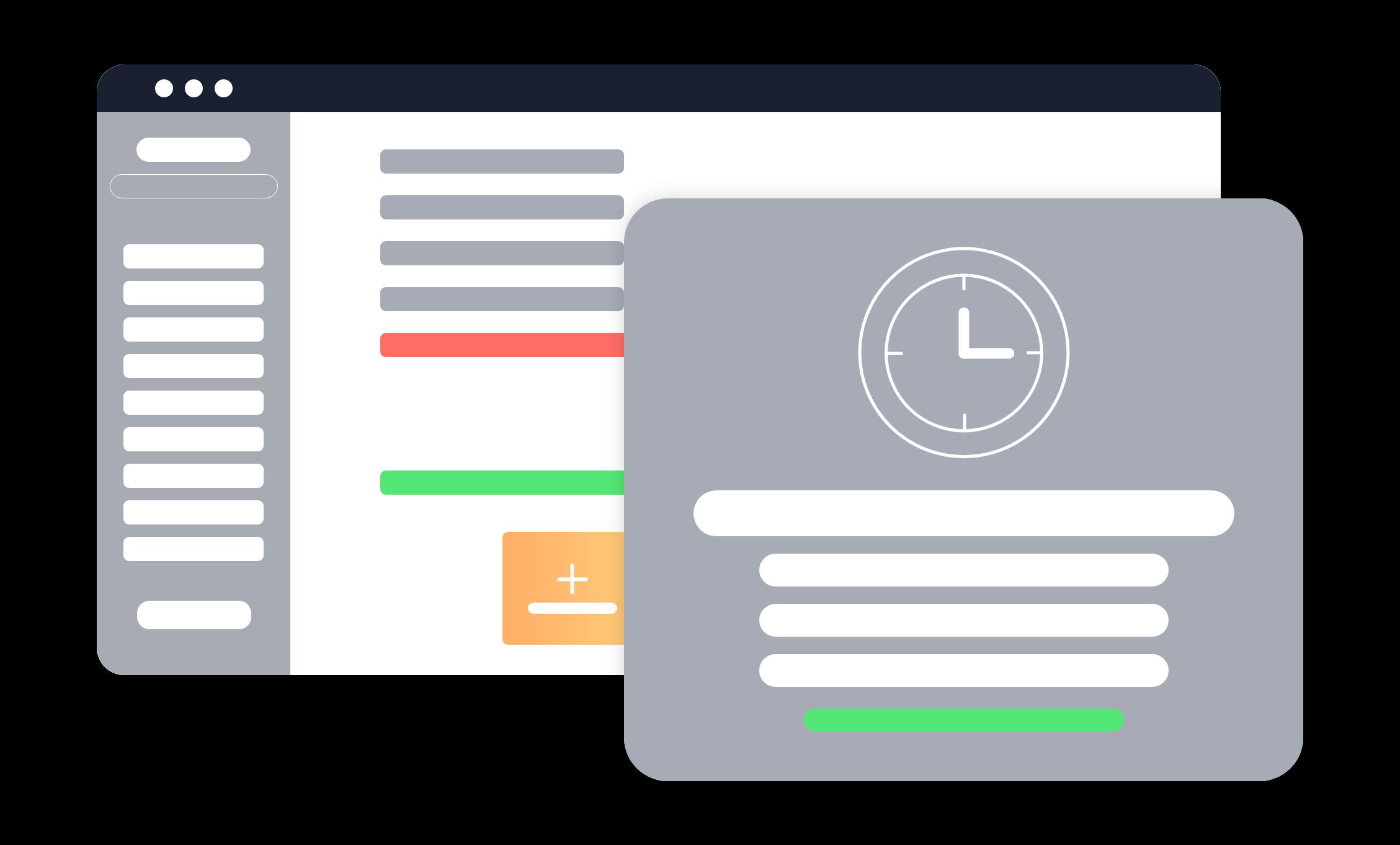 Smart Launch minimalisiert dargestellt