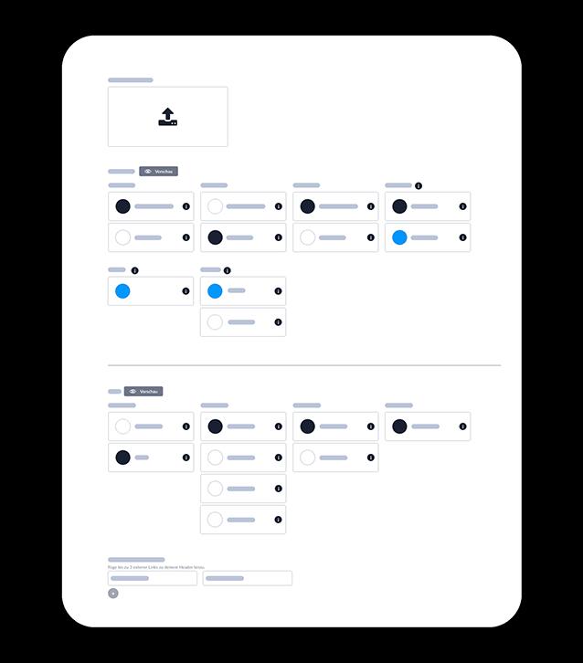 Interfaces Gestalten Beispiel